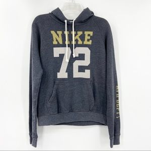NIKE Gray 72 The Athletic Dept Hoodie